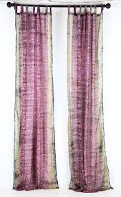 sari window curtain purple teal u2014 colors by padmini