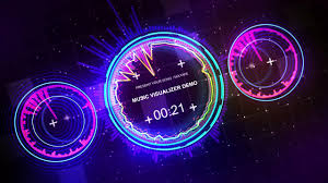music visualizer royalty free techno style v1 video dailymotion