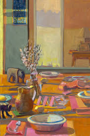artful interiors paintings of beautiful rooms louise