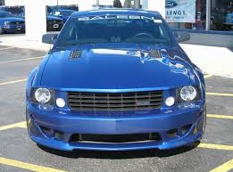 2007 mustang grill vista blue 2007 saleen s281 sc ford mustang coupe