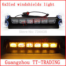 red and white led emergency lights 18 led police strobe lights car dash board windshields l