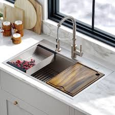 small kitchen sink and cabinet combo 7 best drop in sinks for your diy renovation