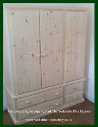 Solid Pine Wardrobes The Yorkshire Pine Factory Handmade Solid Pine Wardrobes