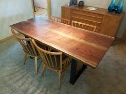 Slab Dining Room Table Live Edge Slab Tables U2013 Four Fields Furniture