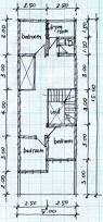 two story house plans 5mx15m house affair
