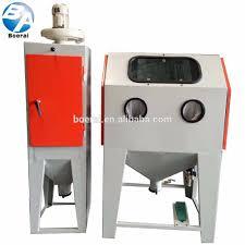 standard manual blasting machines glass sand blasting equipement