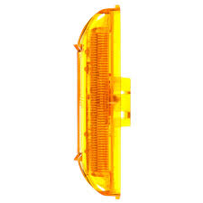 truck lite marker lights 19 series led yellow rectangular 6 diode marker clearance light