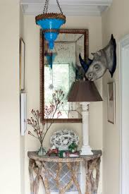 Blue Entryway Table by Fabulous Foyer Decorating Ideas Southern Living