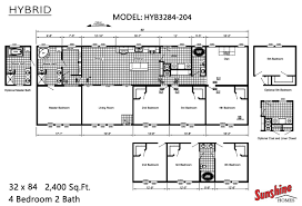 Triple Wide Mobile Homes Floor Plans by Manufactured Homes Home