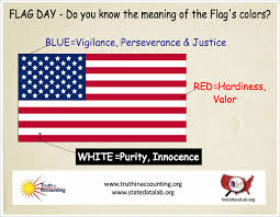 what do the colors mean flag day do you know the meaning of the flag s colors chart
