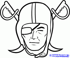 nfl team coloring pages raiders football coloring pages how to draw the raiders oakland