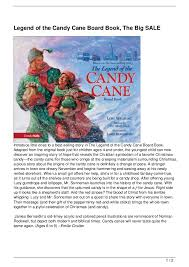 legend of the candy legend of the candy board book the big sale