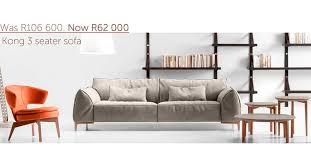 Gamma Leather Sofa by On Promotion Gamma Kong Sofa Casarredo