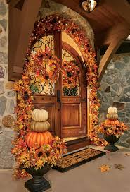 How To Decorate Your Home For Fall Outside Fall Decorating Ideas Improvements Blog