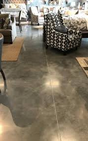 polished concrete floors the high gloss finish really contrasts