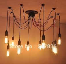 Edison Bulb Light Fixtures Aliexpress Com Buy Modern Carbon Filament 10 Lights Edison Bulb