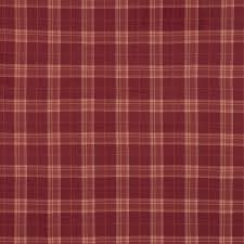 Red Plaid Upholstery Fabric Laura Ashley Highland Check Cranberry Red Wool Mix Upholstery