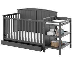 Dream On Me Ashton 4 In 1 Convertible Crib Black by Storkcraft Storkcraft Steveston 4 In 1 Convertible Crib And
