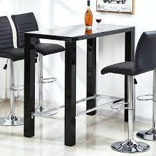 glass pub table and chairs black bar table womenforwik org