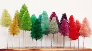 21 bottle brush tree decor ideas lolly