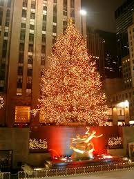 rockefeller center nyc we always go while they are decorating