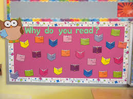 reading bulletin board ideas for winter