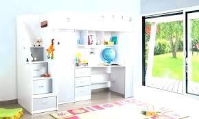 bureau en mezzanine lit superposac combinac bureau lit superpose combine lit combine