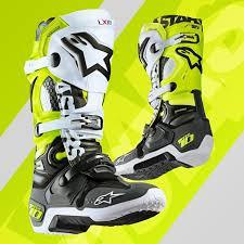 motocross boots alpinestars 2018 alpinestar tech 10 a1 angel limited edition motocross boots