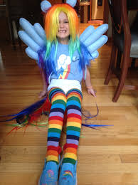 party city halloween costumes wigs rainbow dash costume my little pony rainbow dash costume