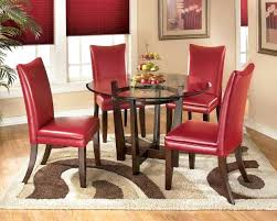 red tufted chair vintage red leather button tufted chair and