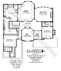 Colonial Style Floor Plans by Arbor Moore House Plan House Plans By Garrell Associates Inc