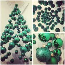 suspended christmas tree shop window display christmas tree