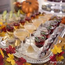 fall mini cocktails idea friendsgiving ideas