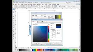 How To Draw A Waving Flag 05 Corel Draw Tutorial