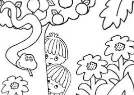adam and eve coloring pages coloring4free com