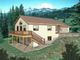 house plans for sloped lots large vacation house plans sloped lot hd wallpaper photos