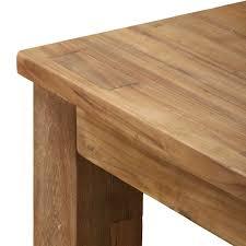 Dining Table Teak Lifestyle Dining Table Natural Teak 100 Reclaimed Teak Raft