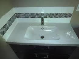 bathroom vanity backsplash ideas bathroom vanity backsplash height awesome homes great bathroom