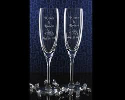 wedding engraved gifts personalized glass wedding gift s name n wedding date