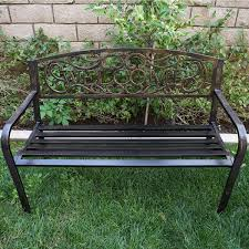 Wrought Iron Patio Furniture For Sale by 100 Wrought Iron Garden Benches Sale Amazon Com Benches