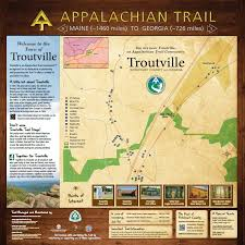 New York Appalachian Trail Map by Appalachian Trail Botetourt Va Tourism