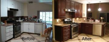Give Your Kitchen A Facelift With Kitchen Cabinet Refacing - Kitchen cabinet refacing before and after photos
