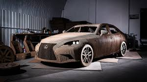 lexus las vegas staff the newest lexus is an origami inspired car made from cardboard