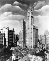regal woolworth building new york city 8x10 reprint of old photo