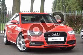 audi a4 diesel 2 0 tdi 177 quattro s line 4dr for sale at coventry