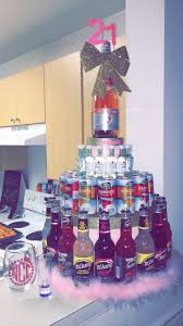 birthday ideas 21st birthday ideas for your bestfriend mini bottle cake gifts