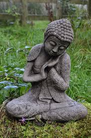 pierre pour jardin zen ornement de jardin bouddha couché du pays de galles en pierre