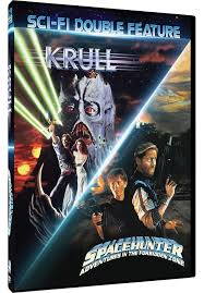 amazon com 80 u0027s sci fi double feature krull spacehunter