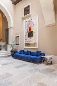 Black Laminate Tile Flooring Decorating Elegant Family Room Design With White Loveseat And