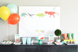 dessert table backdrop bodhi s dinosaur themed third birthday party dessert table